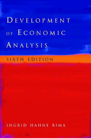 Development of Economic Analysis book cover