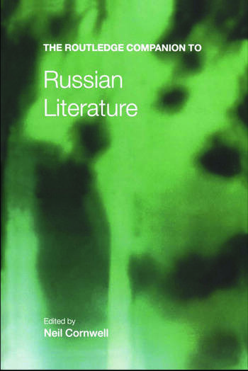 The Routledge Companion to Russian Literature book cover