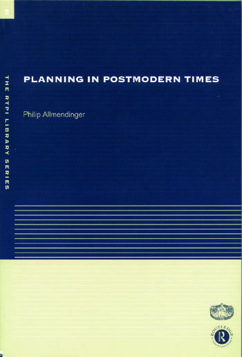 Planning in Postmodern Times book cover