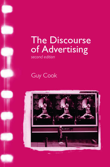 The Discourse of Advertising book cover