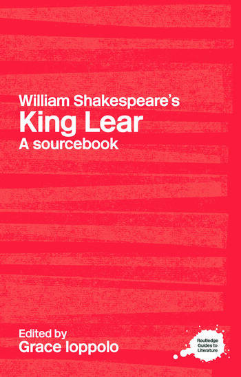 William Shakespeare's King Lear A Sourcebook book cover
