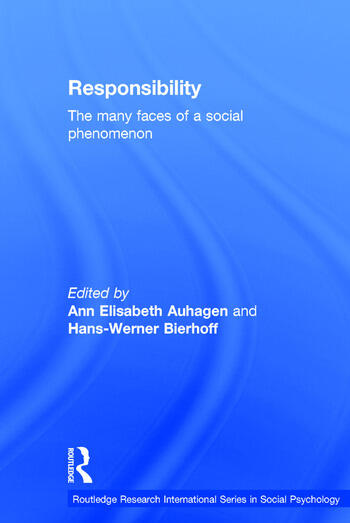 Responsibility The Many Faces of a Social Phenomenon book cover