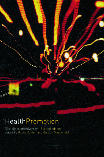 Health Promotion Disciplines and Diversity book cover