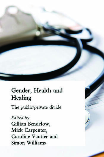 Gender, Health and Healing The Public/Private Divide book cover
