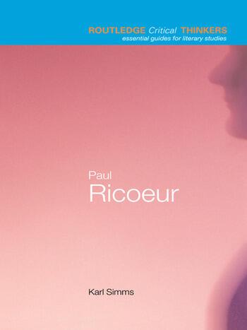 Paul Ricoeur book cover