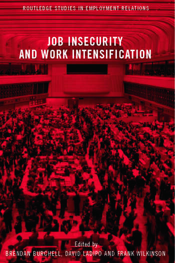 Job Insecurity and Work Intensification book cover