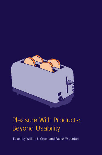 Pleasure With Products Beyond Usability book cover