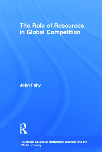 The Role of Resources in Global Competition book cover