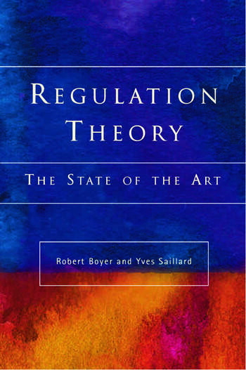 Regulation Theory The State of the Art book cover