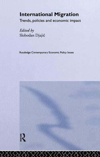 International Migration Trends, Policy and Economic Impact book cover