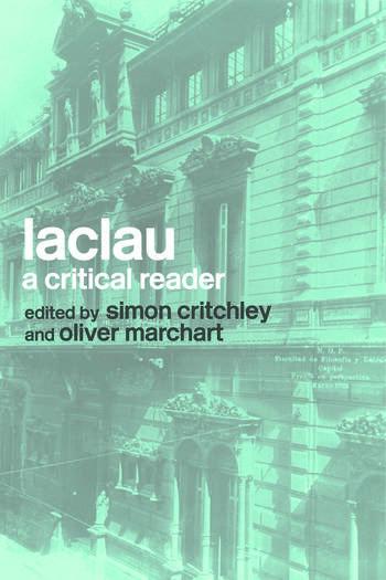 Laclau A Critical Reader book cover