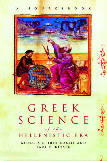 Greek Science of the Hellenistic Era A Sourcebook book cover