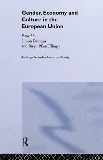 Gender, Economy and Culture in the European Union book cover