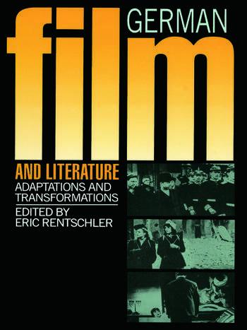 German Film & Literature book cover