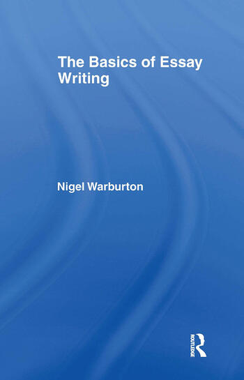 The Basics of Essay Writing book cover