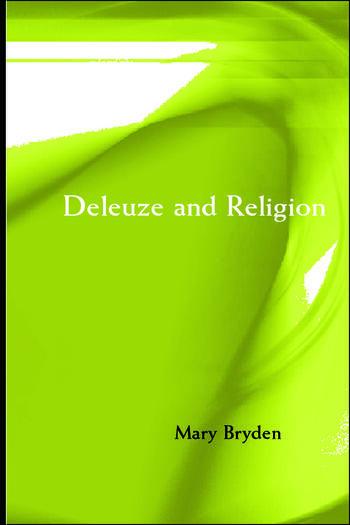 Deleuze and Religion book cover