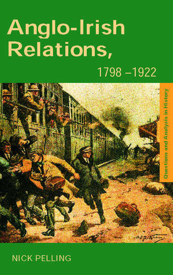 Anglo-Irish Relations 1798–1922 book cover
