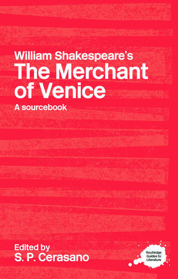 William Shakespeare's The Merchant of Venice A Sourcebook book cover
