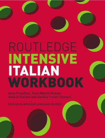 Routledge Intensive Italian Workbook book cover