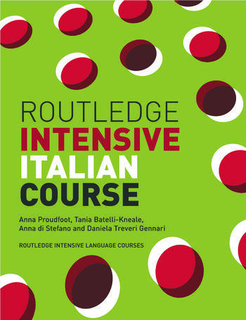Routledge Intensive Italian Course book cover
