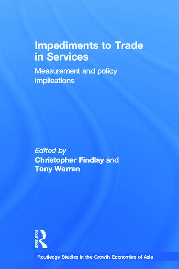 Impediments to Trade in Services Measurements and Policy Implications book cover