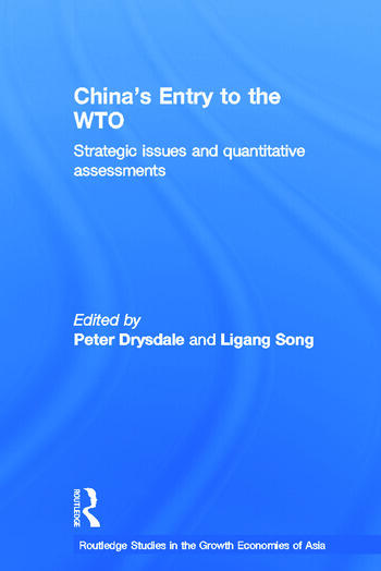 China's Entry into the World Trade Organisation book cover