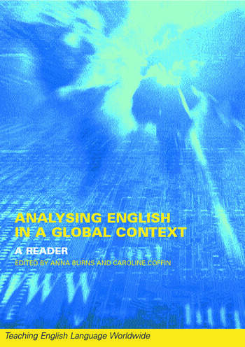 Analyzing English in a Global Context A Reader book cover