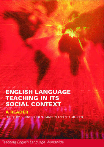 English Language Teaching in Its Social Context A Reader book cover
