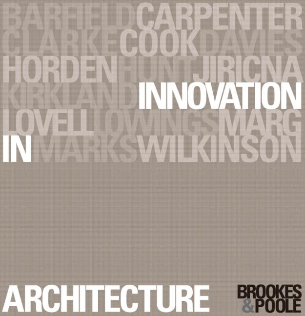 Innovation in Architecture A Path to the Future book cover