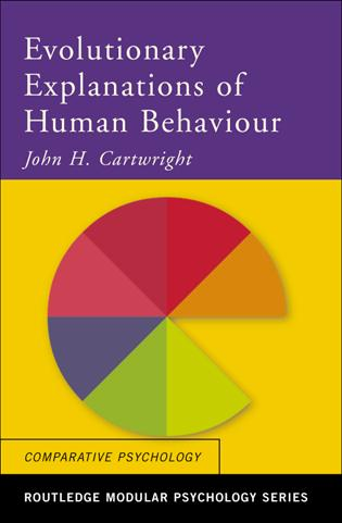 Evolutionary Explanations of Human Behaviour book cover