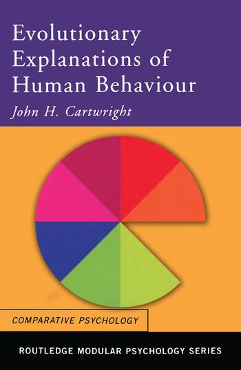 Evolutionary Explanations of Human Behaviour book cover