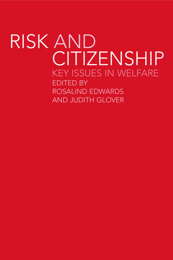 Risk and Citizenship Key Issues in Welfare book cover