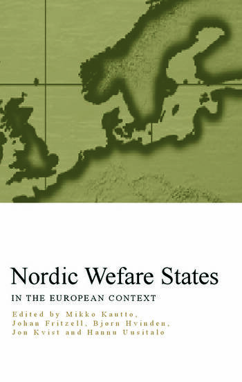 Nordic Welfare States in the European Context book cover