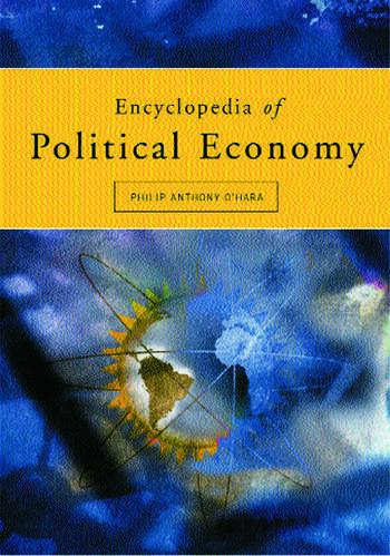 Encyclopedia of Political Economy 2-volume set book cover
