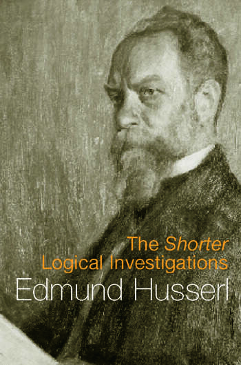 The Shorter Logical Investigations book cover