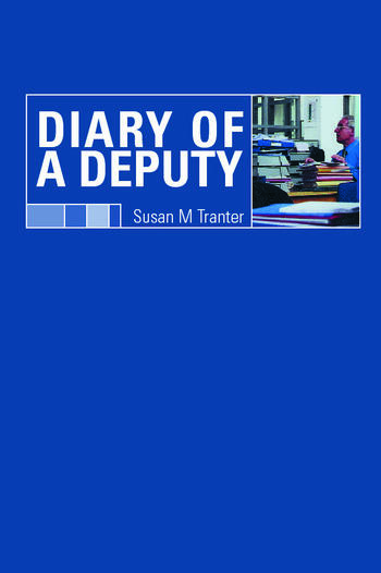Diary of A Deputy book cover