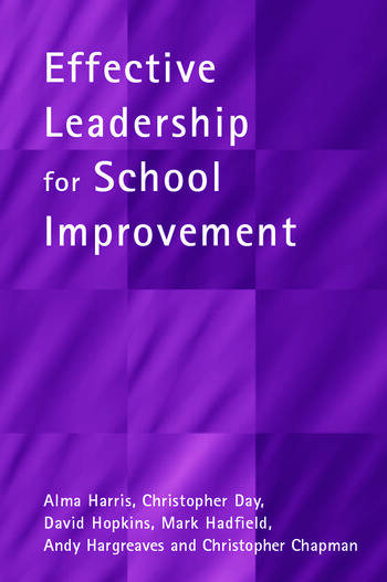 Effective Leadership for School Improvement book cover
