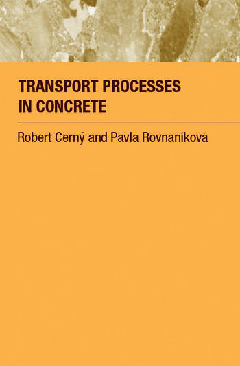 Transport Processes in Concrete book cover