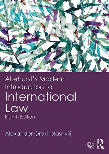 Akehurst's Modern Introduction to International Law book cover