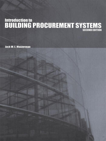 An Introduction to Building Procurement Systems book cover