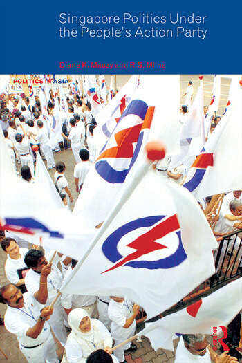 Singapore Politics Under the People's Action Party book cover