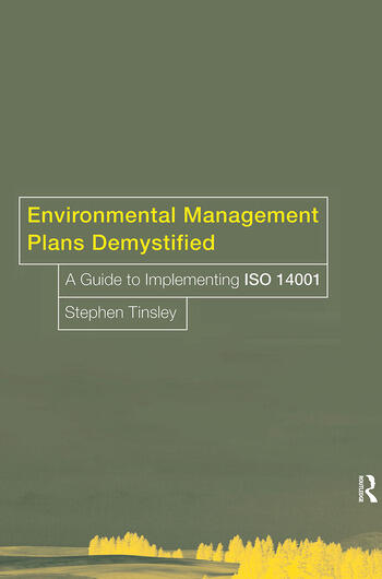 Environmental Management Plans Demystified A Guide to ISO14001 book cover