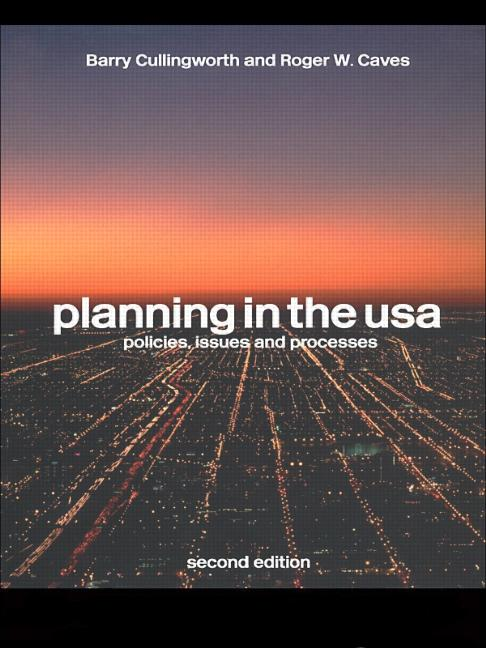 Planning in the USA Policies, Issues and Processes book cover