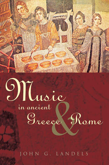 Music in Ancient Greece and Rome book cover