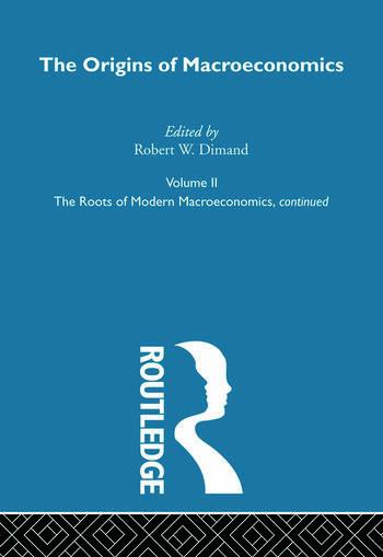 Origins of Macroeconomics Volume Two book cover