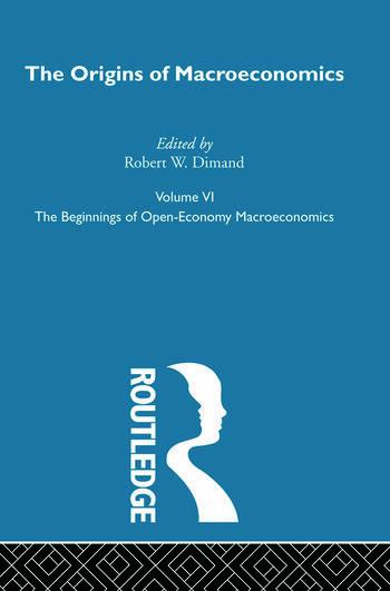 Origins of Macroeconomics Volume Six book cover