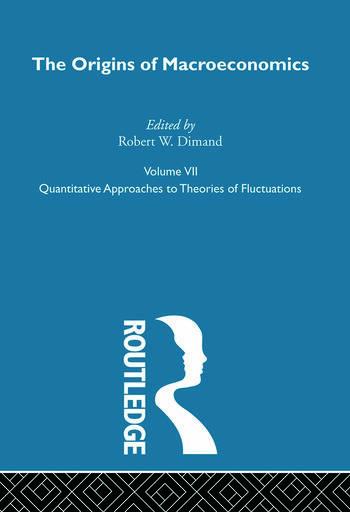 Origins of Macroeconomics Volume Seven book cover