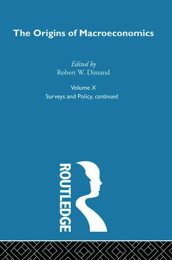 Origins of Macroeconomics Volume Ten book cover