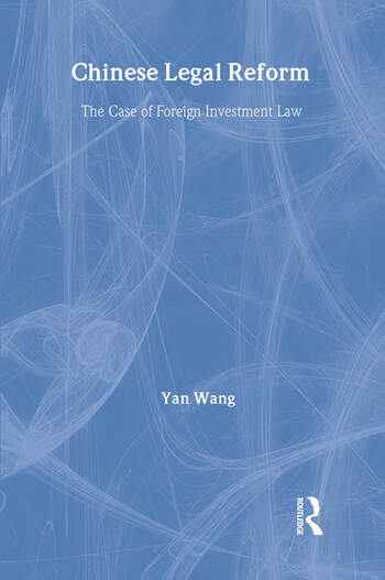 Chinese Legal Reform book cover