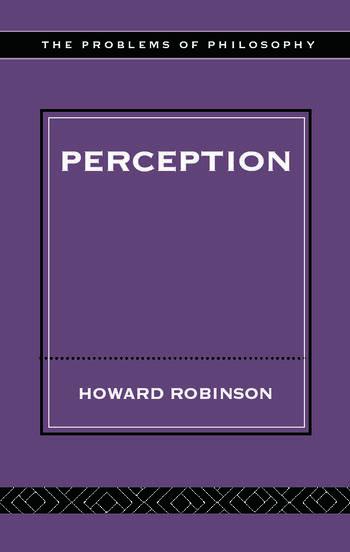 Perception book cover